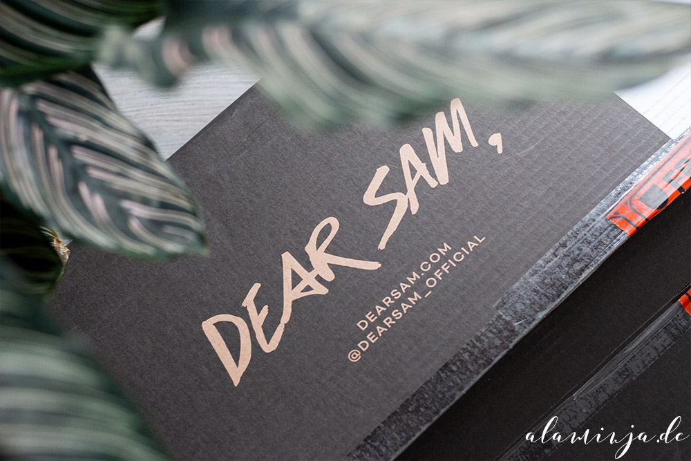 Dear Sam Packaging
